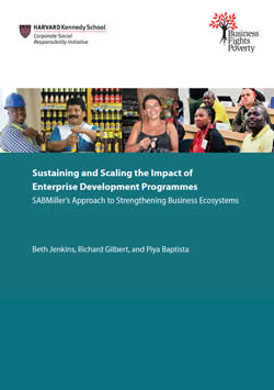 Sustaining and Scaling the Impact of Enterprise Development Programmes